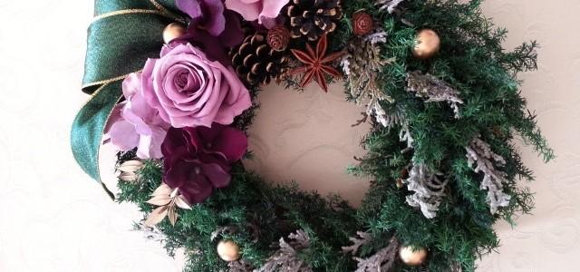 2013年11月20日:クリスマスリースを作る会を開催しました